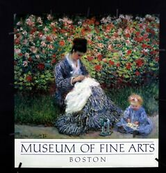 Claude Monet - Camille Monet And A Child In The Monet Garden, 1875-offset Poster
