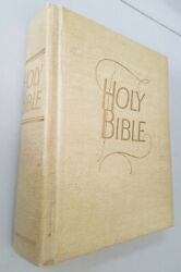 Holy Bible King James Version By Southwestern, Large Family Size 1966, Like New