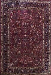 Antique Vegetable Dye Traditional Hand-knotted Area Rug Classic Oriental 10x13