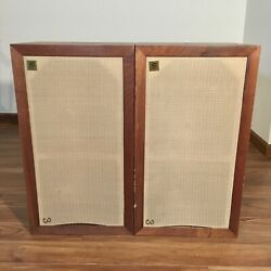 Vintage Acoustic Research Ar-3 Pair Of Matching Speakers Close Serial Numbers