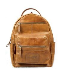 Rawlings Heritage Collection Leather Backpack Tan 15quot; Tan $165.60