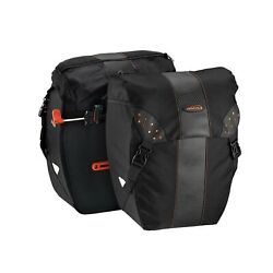 Ibera Bicycle Bag Pakrak Clip-on Quick-release All Weather Bike Panniers Pai...
