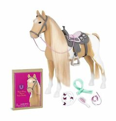 Our Generation By Battat- Palomino Paint Horse- 20 Hair Play Horse- Toys, Ho...