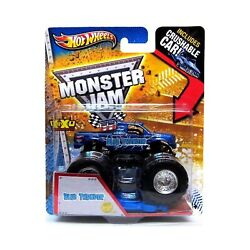 Monster Jam Hot Wheels Blue Thunder 1st Editions 2013 New Deco With Crush...
