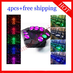 912w Rgbw 4 In 1 Led Beam Moving Head Dj Party Stage Light 4pcs Free Shipping