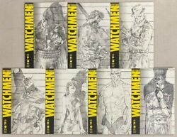 Before Watchmen Jim Lee Cover French Variant Only 2500 Full Set Rare