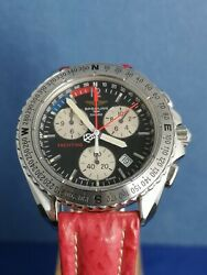 Breitling Shark Rare Dial Yachting Ref A53605 Case 41 Mm