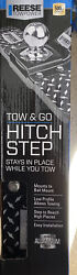 Hitch Step Reese Towpower 7060200 Tow And Go New