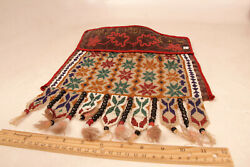 Antique Great Lakes Tribal Beadwork Dance Apron 15 X 12 May 8 1901