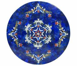 36 Marble Dining Table Top Inlay Rare Semi Round Center Coffee Table Ar1227