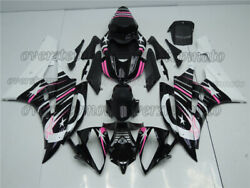 Injection New White Pink Black Fairing Bodywork Kit Fit For Yzf R6 2006-2007 Aay