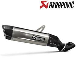 Silencer Slip-on Akrapovic Approved Honda Crf1100l Africa Twin And03920-21