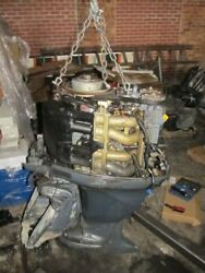2006 Yamaha Outboard Motor F115tlr | 115 Hp Four Stroke Engine 25 For Parts