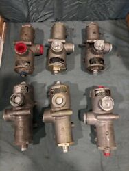 6 Boeing Ch46 Helicopter Hydraulic Valve A02hs151-1 26c26626 1650-00-816-6084