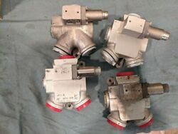 4 Boeing Ch46 Helicopter Direct Linear Valve A15hs016-2 4810-01-085-2169