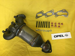 New Elbow Catalyst Exhaust Manifold Opel Corsa C + Agila A 10 L With 58/60 Hp