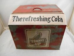 Vintage Thums Up Cola Ice Cooler The Refreshing Cola Soda  Very Rare