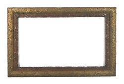 Antique 19th Century Victorian Floral Ornate Gold Gesso Picture Frame Fits 28x16