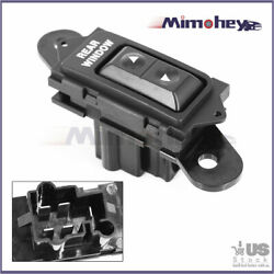 Rear Power Window Switch F2tz-14529-a For 1992-1996 Ford Bronco Us Free Shipping