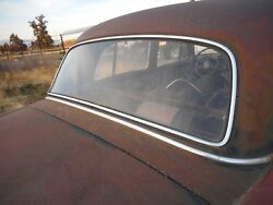 Mercedes Benz 220s 1959 Rear Glass Used Vintage Original Classic