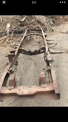 Ford 1942 Through 1947 Pick Up Chassis Frame Original Flathead
