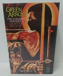 Green Arrow The Longbow Hunters Omnibus Dc Black Label Mike Grell New Sealed