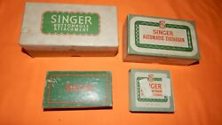 Vintage Singer Automatic Zigzagger And Zigzag Attachment And Stitch Patterns
