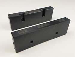 6 Machinable Extension Steel Snap Vise Jaws 2-1/2 X 1 X 8 6mej-250