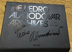 Pedro Almodovar Archives Taschen Hand Signed And Numbered Book