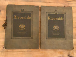 Antique Riverside Military Academy Catalog Yearbook 1929 And 1930