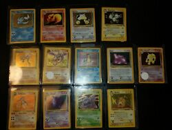 1999 Fossil And Jungle Holo Pokemon Card Lot $200.00