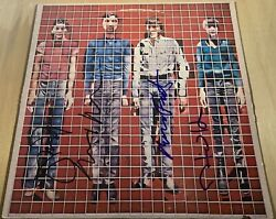 Talking Heads Signed Lp More Songs About Buildings And Food X4 David Byrne Rare