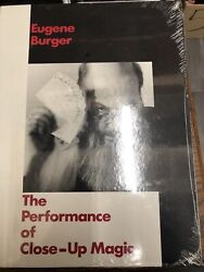 The Performance Of Close Up Magic By Eugene Burger