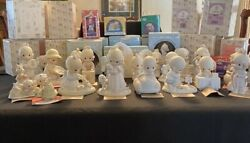 Enesco Precious Moments Members Only ... 23 Piece Lot... 1981-1995..with Boxes