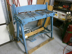 Sheet Metal Jump Shear Peck, Stowe,and Wilcox 32 Used But In Good Condition