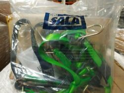 Harness Delta Ii Green Vest Tie-back Legs 18 Ext Back/front/lifting D-rings 11