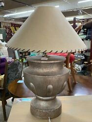 Bon Art 1989 Plaster 1053 Lamp Two Available Sold As Each