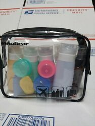 Clear Makeup Bag Travel Cosmetic Transparent PVC Toiletry Pouch Organizer. $12.99