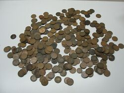 Lot 350 Great Britain Uk One Penny Coins Dated 1896 And Up