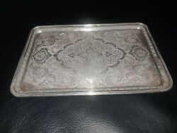 Museum Quality Art/persian / Middle East Antique -signed Silver Tray