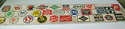 Vintage Post Cereal Tin Railroad Signs - Complete Set - 1950and039s