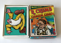 R. Crumb Trading Cards Robert Kitchen Sink 3rd Printing Underground Comix Adult