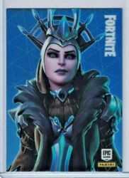🔥 2020 Panini Fortnite Optichrome Holo Legendary Outfit The Ice Queen 184 🔥