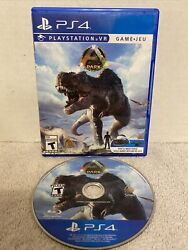 Ark Park Playstation 4 Ps4 Ps Vr Psvr Dinosaur Game Rated T Teen Extremely Rare