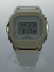 Casio G-shock Gm-s5600g Quartz Digital Rubber Day Date Working Auth From Japan