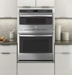 Ge 30 Combination Double Wall Oven Model Jt3800shss