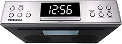 Under The Cabinet Radio Kitchen Counter Bluetooth Stereo Speaker Led Display