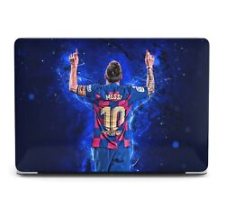 Football Lionel Messi Macbook Case For Mac Air Pro M1 13 16 Cover Skin Sn125