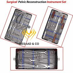 Pelvic Reconstruction Instrument Set Surgical Orthopedic Instruments By Mesaad