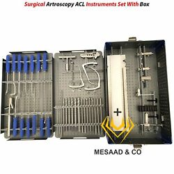 Orthopedic Surgical Arthroscopy Acl Instruments Set By Mesaad